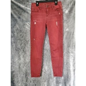 Celebrity pink Red jeans